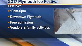 35th Annual Plymouth Ice Festival 8:30 - Video