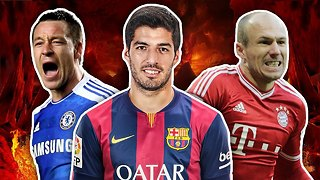 Top 10 Most Hated Footballers - Video