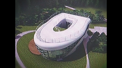 Toilet-Shaped House