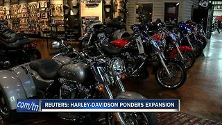 Harley-Davidson ponders expansion - Video