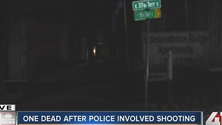 Independence police shoot, kill armed man - Video