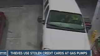 Thieves use stolen credit card to buy hundreds of dollars of gas - Video
