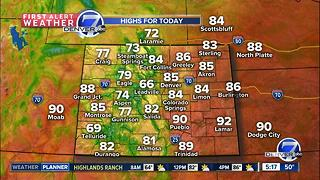 80s and sunshine through Friday - Video