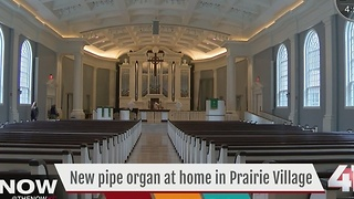 $2M pipe organ to make debut in Prairie Village - Video