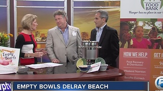 'Empty Bowls Delray Beach' raising money for local hunger relief - Video