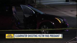 Police: Pregnant woman killed in drive-by shooting in front of husband, daughter in Clearwater - Video