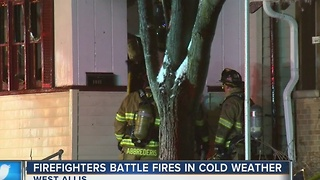Adopt-a-hyrdrant program credited with helping to extinguish West Allis fire - Video