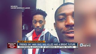 Freinds say man who was killed by roomate had a bright future - Video