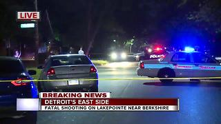 Man killed in shooting on Detroit's east side - Video