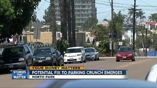 Would you support parking permits in North Park? - Video