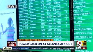 How will Atlanta's Hartsfield-Jackson Airport power outage affect local flights? - Video