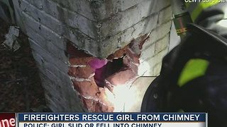 8-year-old girl rescued after getting stuck inside chimney in Clearwater