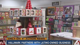 Hallmark partners with Latino-owned businesses - Video