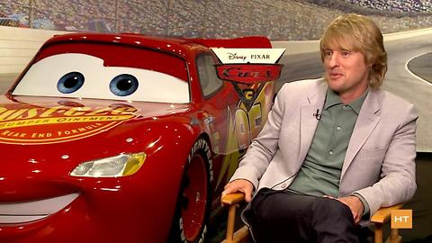 Owen Wilson describes his kids' reaction to seeing Lightning McQueen in 'Cars 3' | Hot Topics