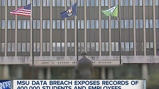 Massive date breach at Michigan State University - Video