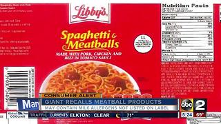 Giant recalls metball products - Video