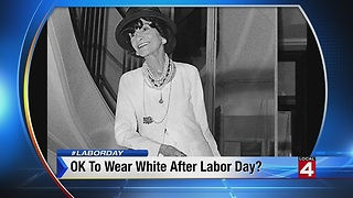 The History of WHITE AFTER LABOR DAY on The Feed! - Video