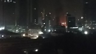 Deadly Fire Sweeps Mumbai Complex - Video