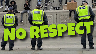 NO RESPECT FOR THE POLICE - LONDON, ENGLAND - 11TH JUNE 2020