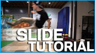 Parkour and freerunning slide tutorial - Video