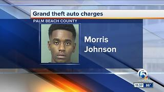 Boynton Beach man charged in carjacking, chase - Video
