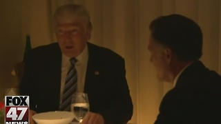 Ex-rivals Romney and Trump have dinner - Video