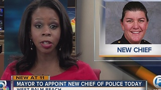 West Palm Beach mayor to appoint new police chief