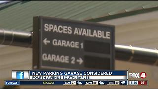 New Naples parking garage considered - Video