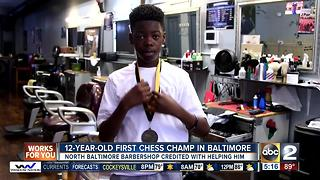 Baltimore 12-year-old wins chess championship - Video