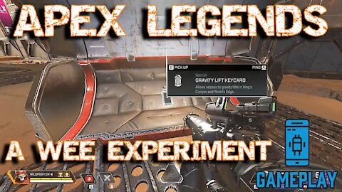 Apex Legends - How to get a Gravity Lift Keycard - A Wee Experiment