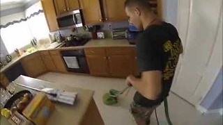 Cleaning Company Makes Grout Vanish With Powerful Equipment - Video