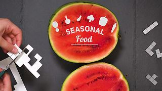 Eat the Season: Greek salad with watermelon - Video