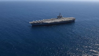 USS Theodore Roosevelt Underway in the Pacific - Video