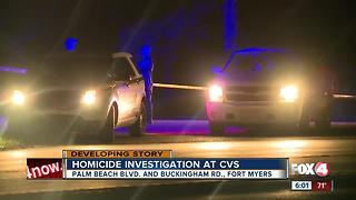 Homicide investigation at CVS in Fort Myers - Video