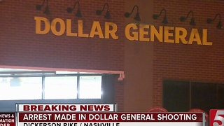 1 Charged In Shooting Outside Dollar General
