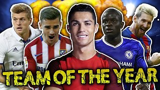 Team Of The Year 2016 XI! - Video