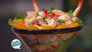 Aquarium Restaurant's Fresh Summer Ceviche' Recipe - Video
