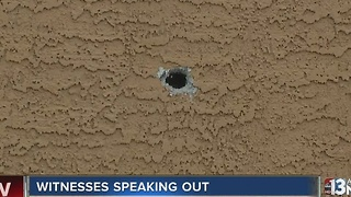 Woman relives fear of hiding in closet during shooting, standoff - Video
