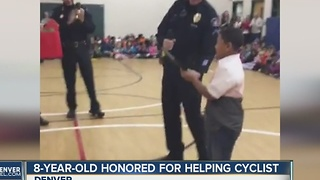 Local child called hero by Aurora Police, given award - Video