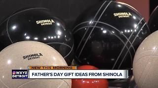 Shinola Shows Off Father's day Gifts - Video