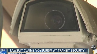 Lawsuit filed over North County Transit District's use of surveillance cameras - Video