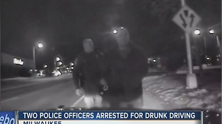 Dashcam video released in OWI arrest of MPD officer - Video