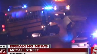 Several Students Injured In Metro School Bus Crash - Video