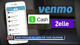 Most popular pay apps for your cellphone