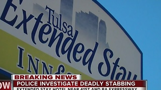 Police identify suspect in deadly Tulsa stabbing - Video