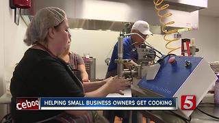 Cumberland Culinary Center Helps Small Business Owners Get Cooking - Video