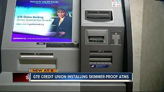 GTE Credit Union installing skimmer-proof atms - Video