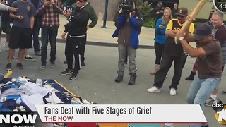 Fans deal with Five Stages of Grief - Video