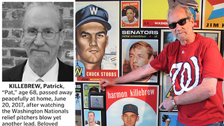 Nationals Fan ROASTS Team in Obituary After Passing Away - Video