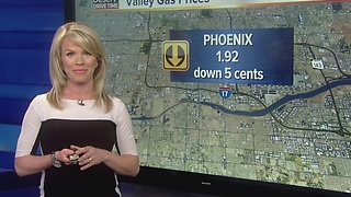 Gas prices dropping ahead of the Thanksgiving week - Video